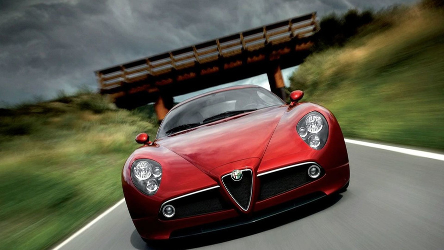 Next Alfa 8C Competizione could be Based on Ferrari California Platform