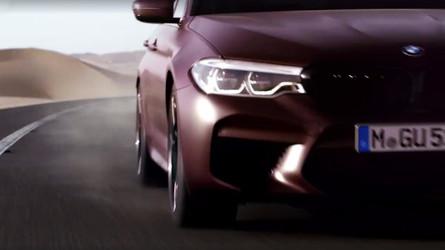 VIDÉO - La BMW M5 montre ses muscles