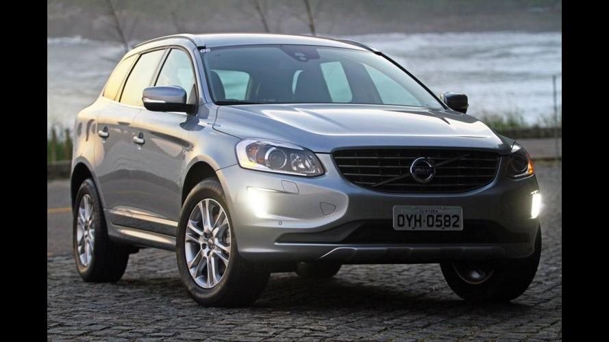 Volvo convoca XC60 e S60 no Brasil para substituir fusível do motor de partida