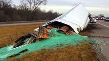 Marble Truck Spill