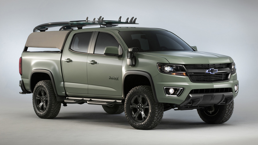 Chevy and Hurley create a Colorado for the beach