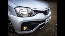 Teste Rápido: Toyota Etios Sedan Platinum não esconde a origem humilde