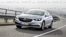 2017 Opel Insignia Grand Sport render