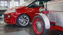 Opel Adam parçaları kullanan Loryc Electric Speedster