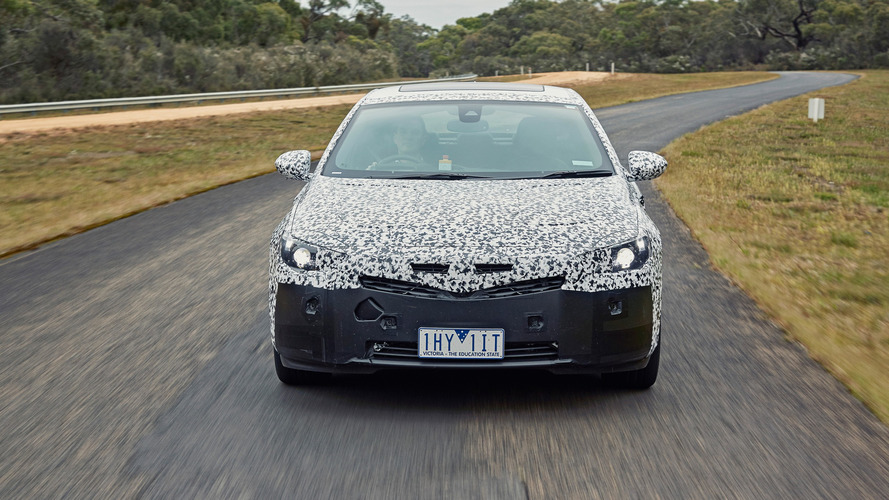 2018 Holden Commodore teaser'ları