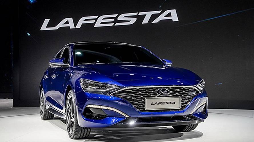 Hyundai revela inédito Lafesta, sedã esportivo feito para a China