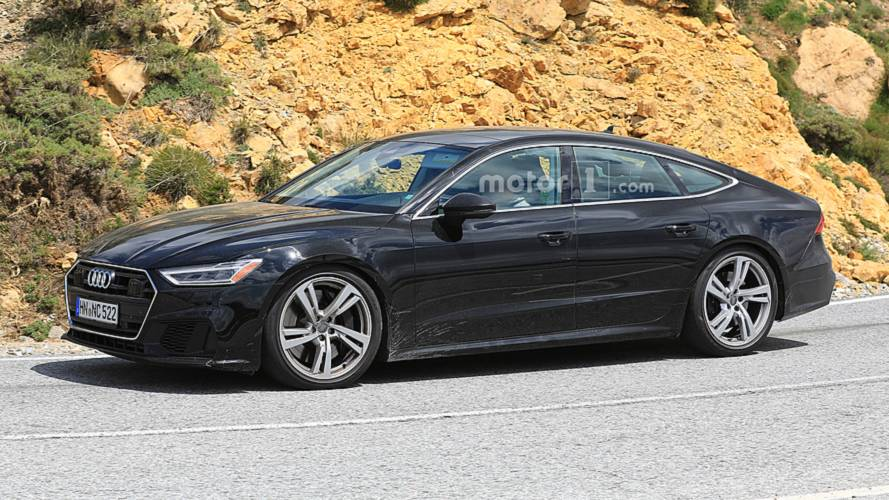 Audi S7 Drops The Camo Completely In Latest Spy Photos