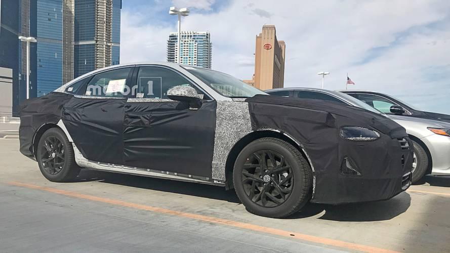 2020 Hyundai Sonata yakalandı