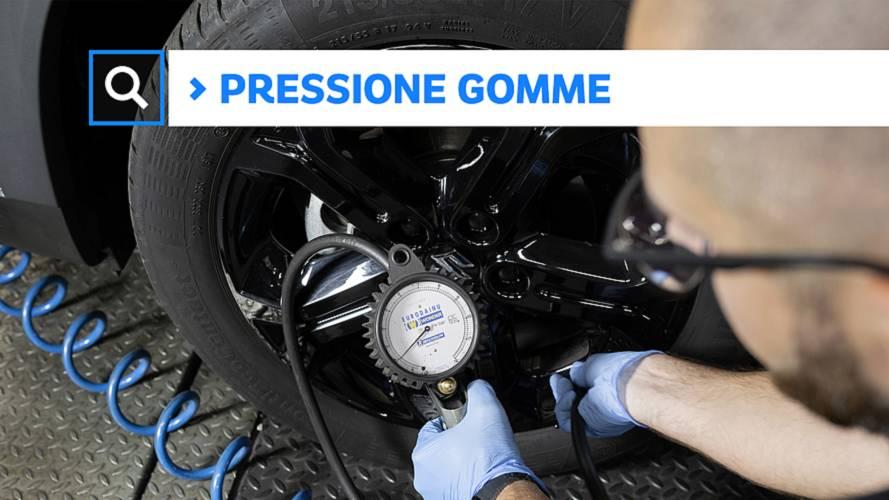 Pressione pneumatici auto, come e quando si controlla