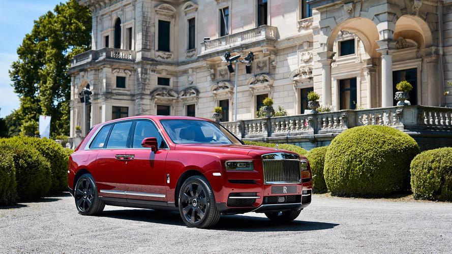 Rolls-Royce Cullinan a Villa d'Este