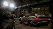 2013 Porsche 911 (991) Turbo Cabriolet artist rendering