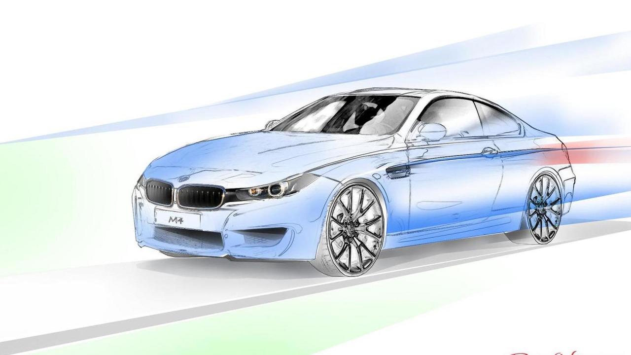 BMW M4 render