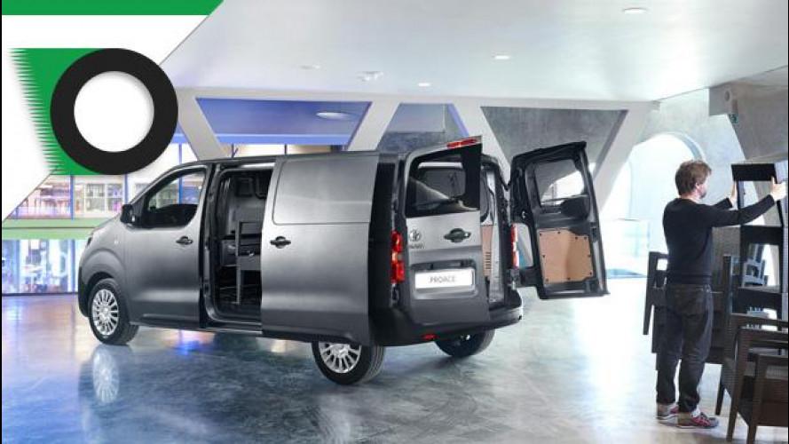 Toyota si rafforza nel segmento dei mid van con il ProAce