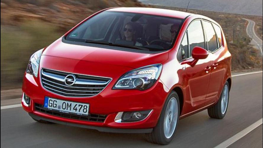 Opel Meriva, è sempre flex ma è più efficiente