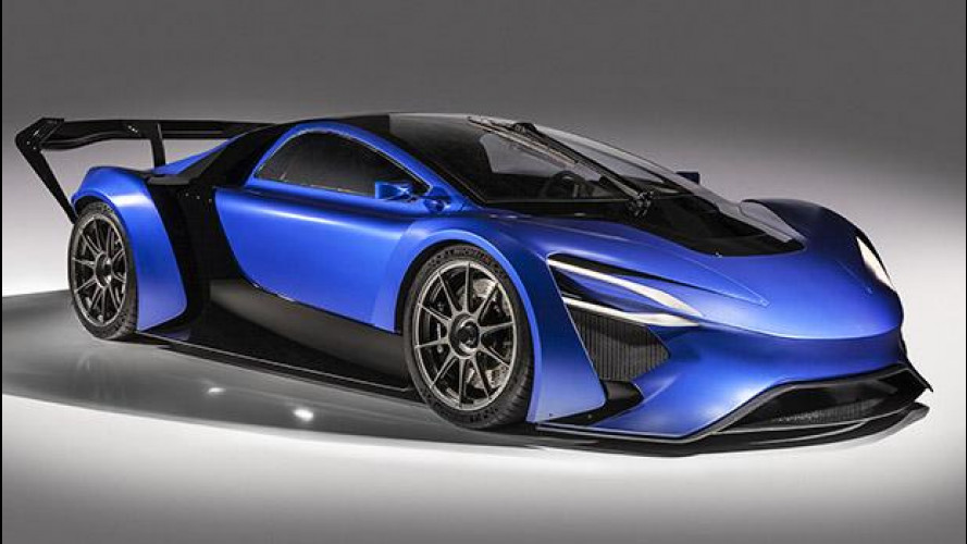 Techrules, la supercar cinese a turbina