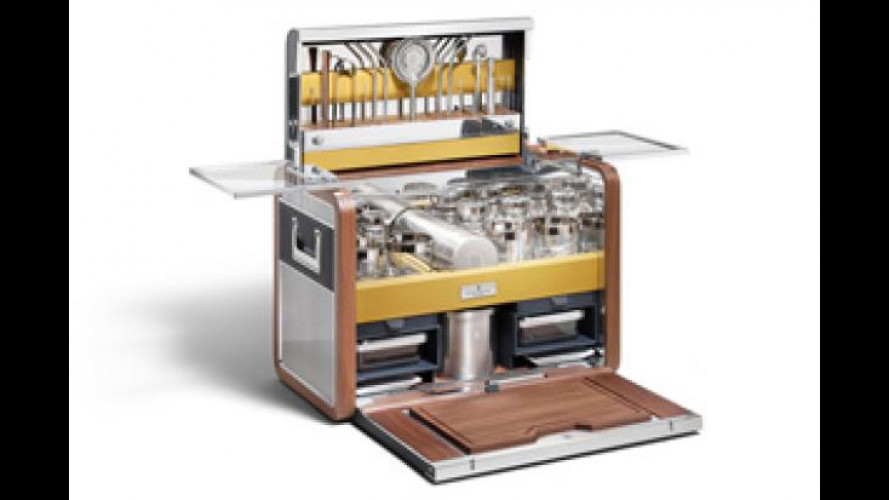 Rolls Royce firma una serie limitata di accessori per cocktail