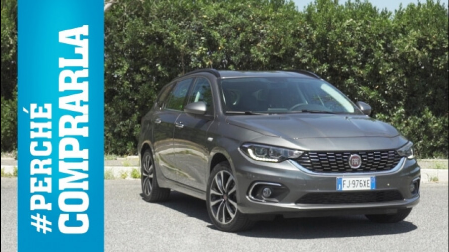 Fiat Tipo Station Wagon, perché comprarla… e perché no [VIDEO]