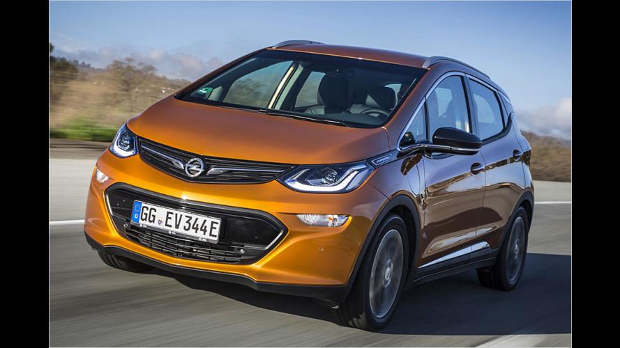 Opel Ampera-e: Nun ist der Preis für das Elektroauto bekannt