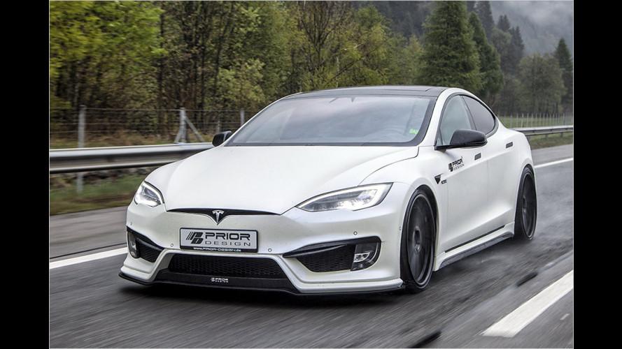 Elektro-Extremist: Tesla Model S von Prior Design