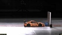 Porsche 911 GT3 RS lego crash