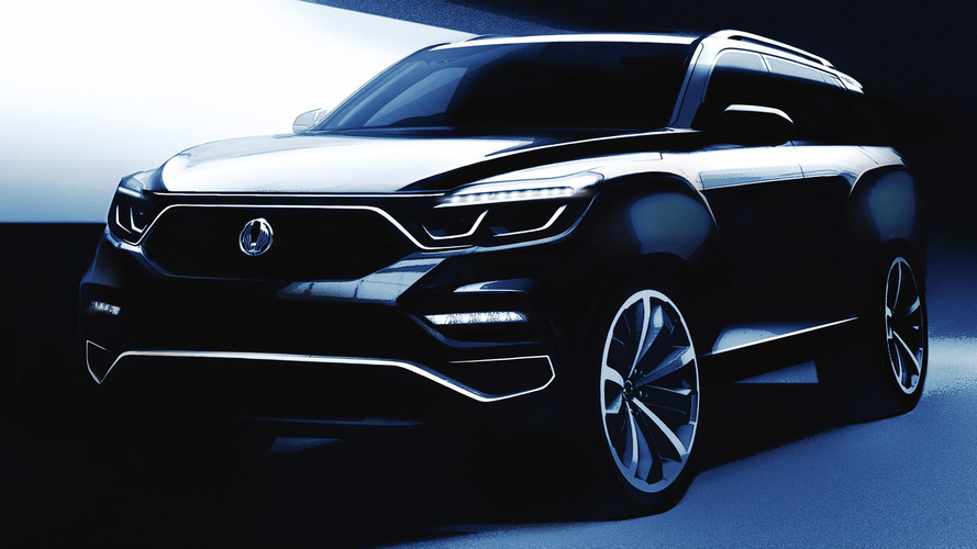 2018 SsangYong Rexton Large SUV Range-Topper Teased