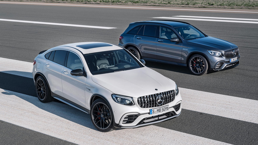 Novos Mercedes-AMG GLC63 são tão rápidos quanto o AMG GT Roadster