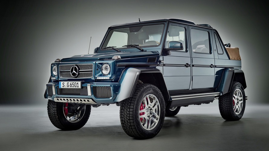 Mercedes-Maybach G650 Landaulet offers V12 power, S-Class rear seats