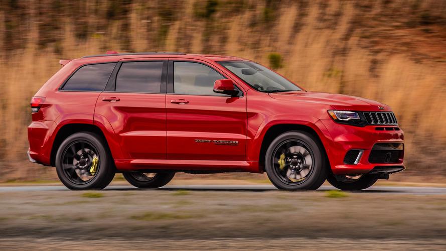 Jeep Grand Cherokee Trackhawk'ın 280 km/s hıza çıkışını izleyin