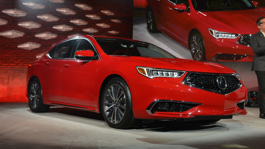 2018 Acura TLX Gets An Aggressive New Look, Loads Of Added Tech
