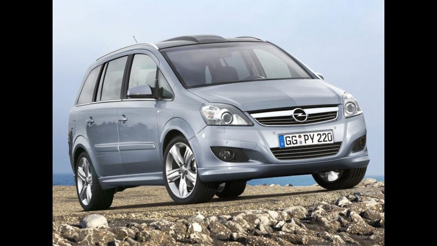 Opel Zafira restyling