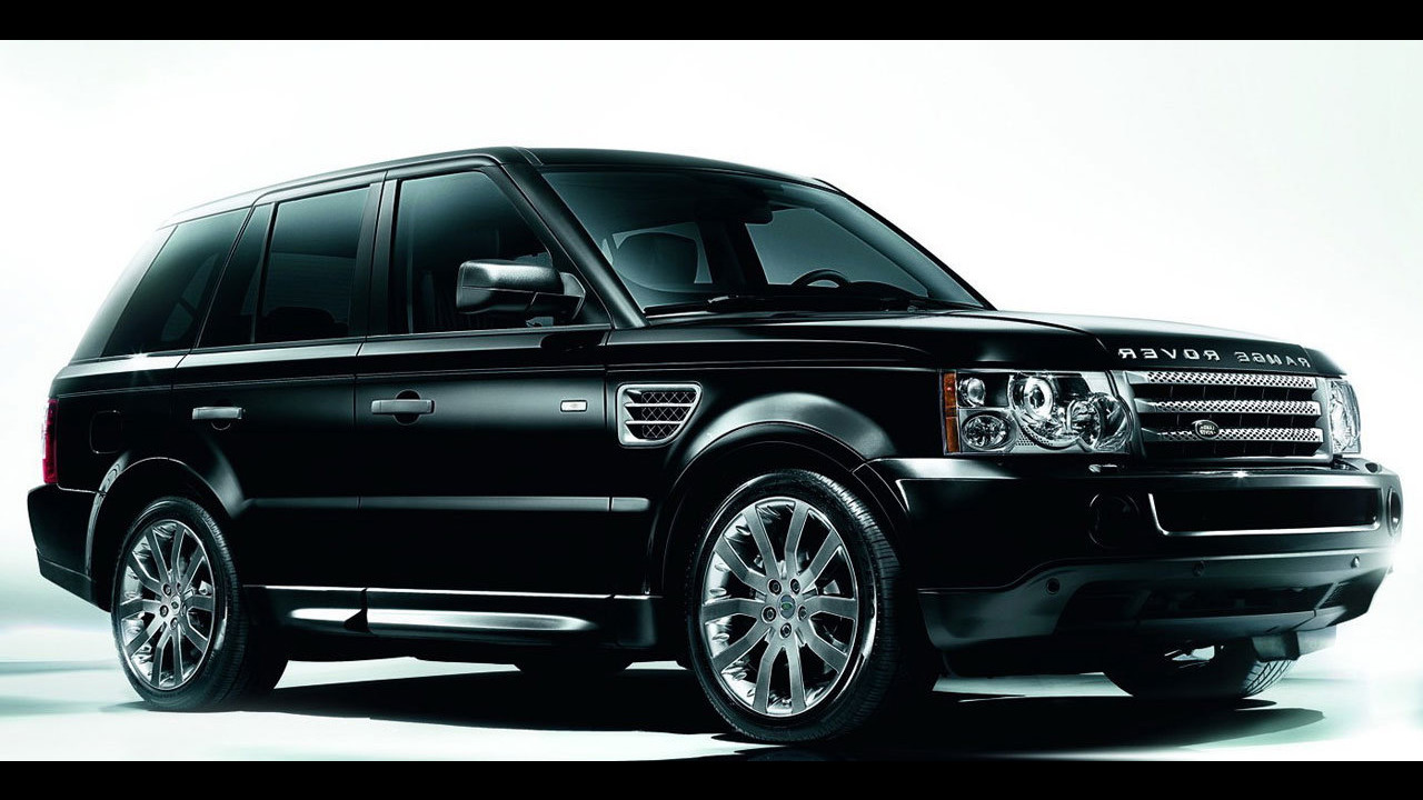 Range Rover Sport Black e White Edition