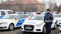 Új rendőrautók - Budapest
