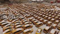 Taxi Graveyard - Moscow