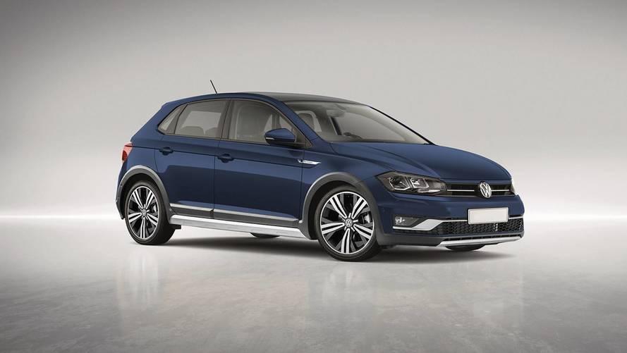 Un rendu d'une probable Volkswagen Polo Alltrack