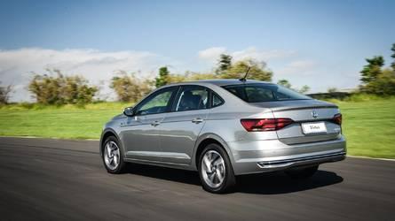 Sedãs compactos mais vendidos em junho: Volkswagen Virtus bate Chevrolet Prisma pela 1ª vez