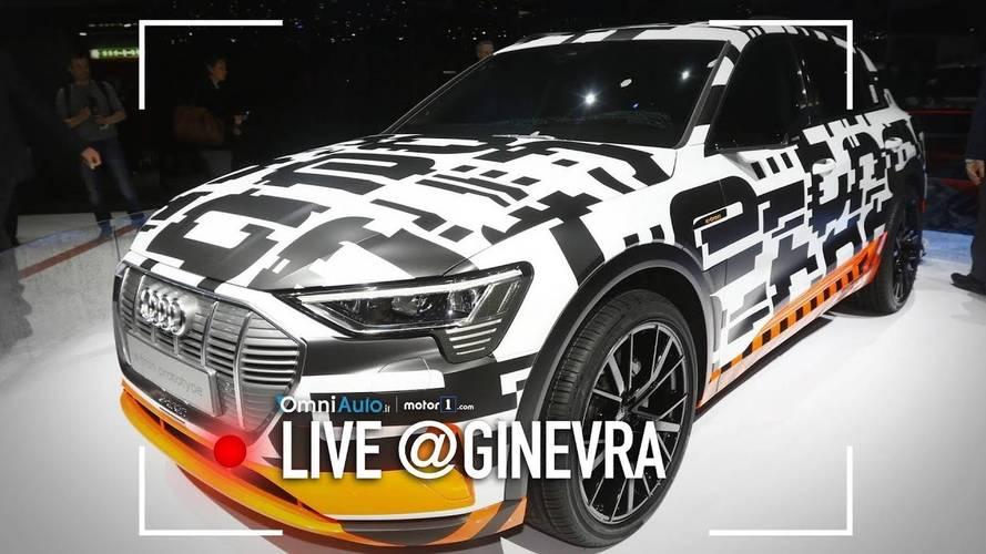 Audi e-tron Concept, a Ginevra il SUV è elettrico