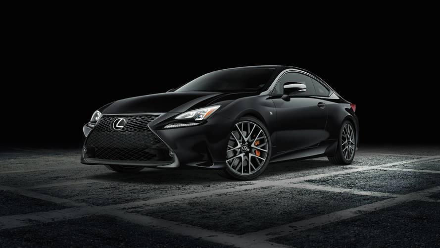 Lexus RC F Sport Black Line, New York'a sinsi duruşuyla gidecek
