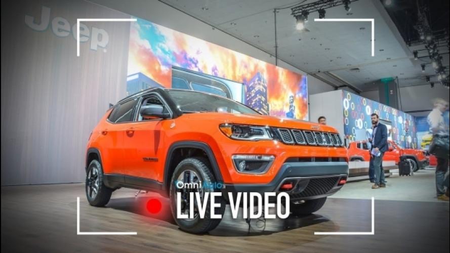 Nuova Jeep Compass, le prime impressioni da Los Angeles [VIDEO]