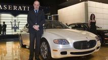 Maserati Quattroporte Automatic at NAIAS Maserati Quattroporte Automatic at NAIAS