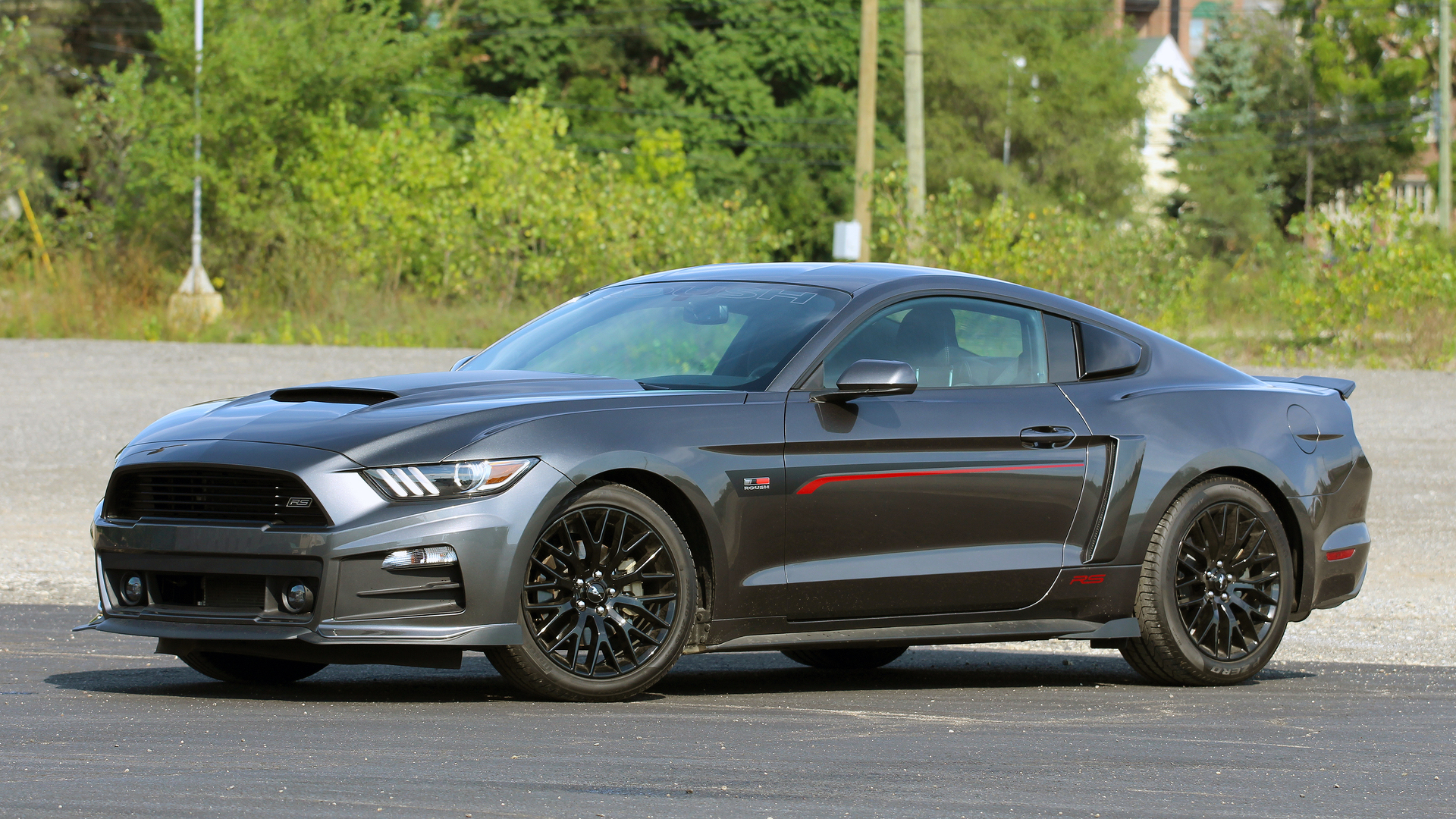 review 2017 roush rs mustang. Black Bedroom Furniture Sets. Home Design Ideas
