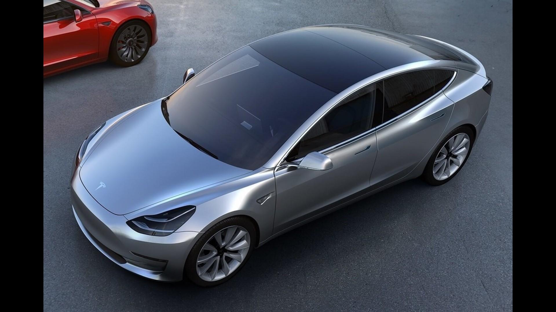 Электромобиль Tesla Model 3 2017 модельного года: фото ...