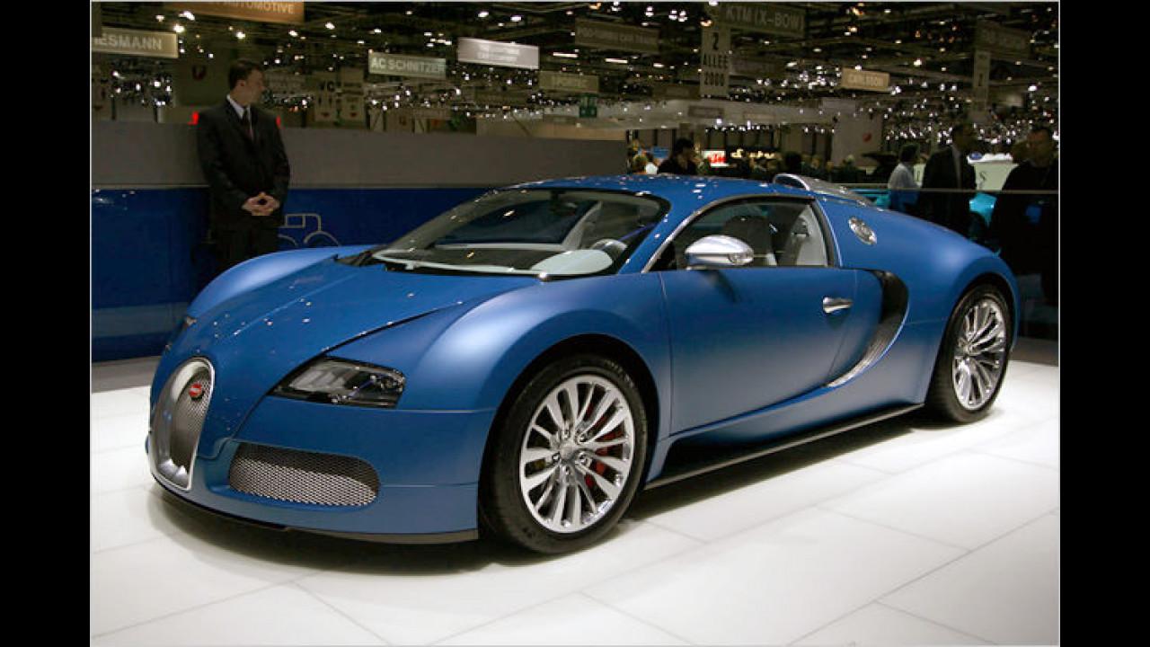 Bugatti Veyron ,Bleu Centenaire