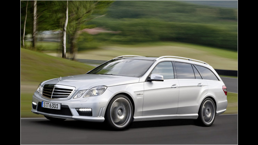 Lademeister mit 525 PS: Mercedes E 63 AMG T-Modell