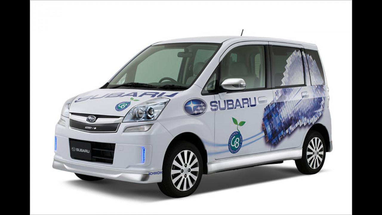 Sauberer Subaru-Stern