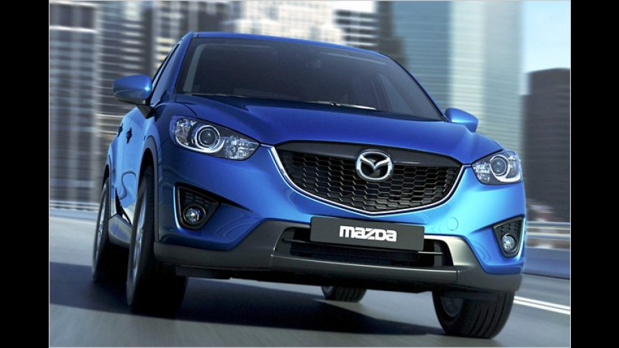 Mazda präsentiert den CX-5: Kompakt-SUV steht auf der IAA