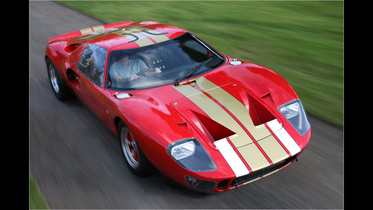 Le Mans Coupé Limited GT40