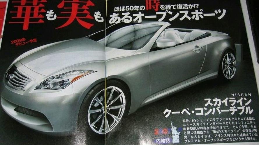 Infiniti Announces G37 Convertible, G37 Sedan and G37x AWD for 2009 (US)