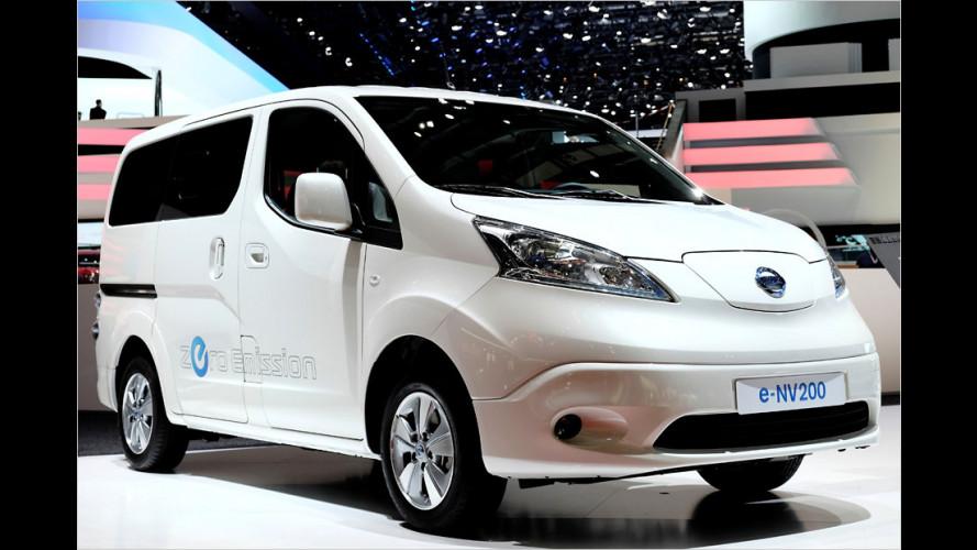 Emissionsfrei als Kompaktvan oder Lieferwagen