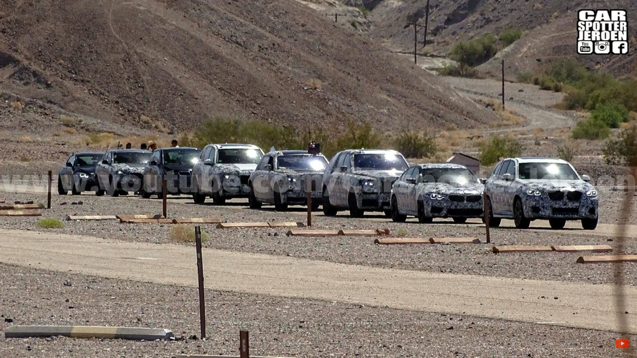 BMW Desert Testing
