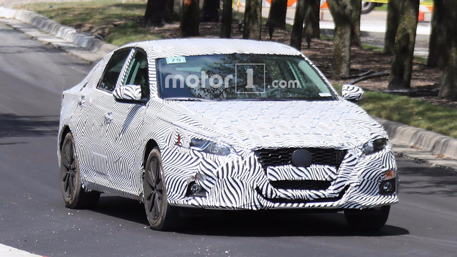All-New 2019 Nissan Altima Spied Testing For First Time